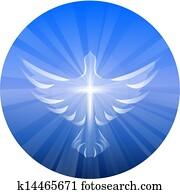 Dove Representing God's Holy Spirit