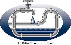 Dripping Faucet Plumbing Design