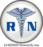 eingetragene krankenschwester, taste