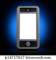 Exclusive mobile phone with blank s
