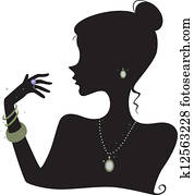 Fashion Accessories Silhouette