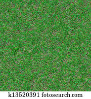 Forest Soil. Seamless Texture.