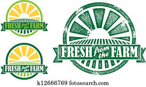 Fresh from the Farm Stamp/Seal