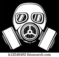 gas mask (army gas mask)