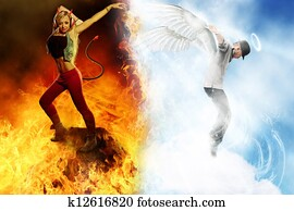 Angel halo images and stock photos 4 222 angel halo photography and royalty free pictures - Free evil angel pictures ...
