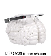 Google Glass and brain