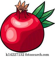 Clipart nourriture fruit grenade produire u19358203 recherchez des clip arts des - Grenade fruit dessin ...