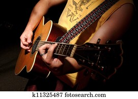 Guitar Acoustic - Music Band