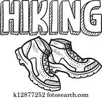 Hiking sketch