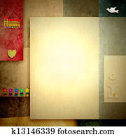 Holy Communion invitations, blank space for photo or write