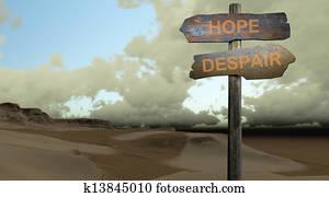 HOPE - DESPAIR