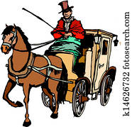 Horse and Coach