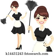 Housewife Maid Duster