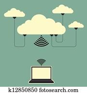 Interconnected Cloud Computing