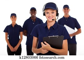 IT service call center operator