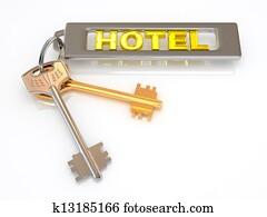 Keys to hotel
