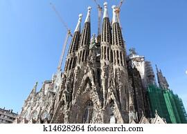 La Sagrada Familia, Barselona