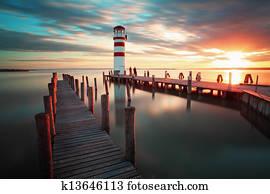Lighthouse - Lake in Austria