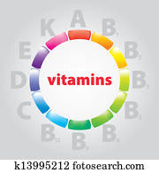 logo vitamins and nutrition