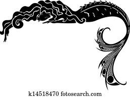 mermaid vector silhouette