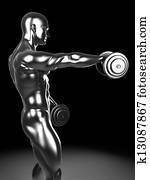 Metal shoulder workout