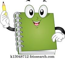 Notebook Mascot