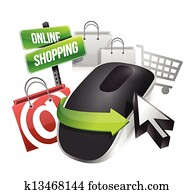 online shopping and Wireless computer mouse