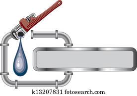 Plumbing Design With Banner