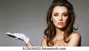 portrait of alluring brunette lady stock photo k13416452 Where to find a Partner - 4 Key Points You will need to Keep in Mind