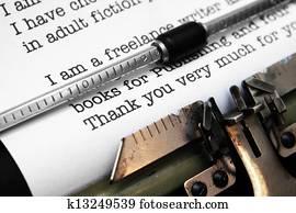 Publishing letter