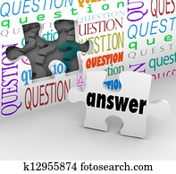 Question Wall Puzzle Piece Answer Complete Understanding