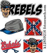 rebels logo collection