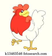 red chicken