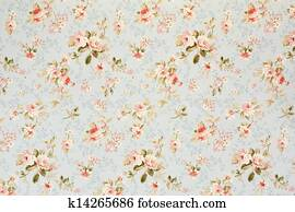 Rose floral tapestry, romantic background