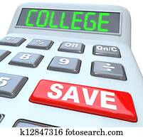 Save for College - Calculator for Education Savings Investment