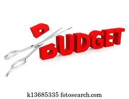 Scissor and budget