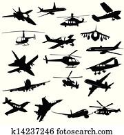 Silhouette aviation