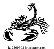 Clip Art Skorpion K15179619 Suche Clipart Poster Illustrationen