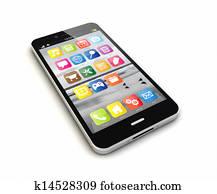 smartphone render