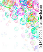 Soap Bubbles Background