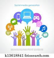 Social media generation