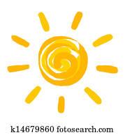 Sonne Clip Art Vectors | 1000+ Sonne EPS Images | Fotosearch