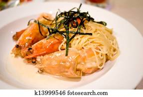 Stock Images of Giant River Freshwater Prawn k16745496