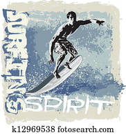 surfing spirit