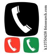 telefon, symbol