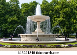 The Fountain in the Park