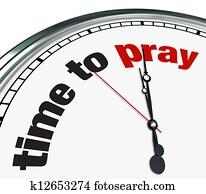 Time to Pray - Clock