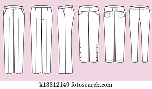 Trousers for woman
