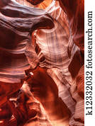 Upper Antelope Red Rock Slot Canyon