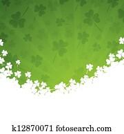 Vector St. Patricks Day Background